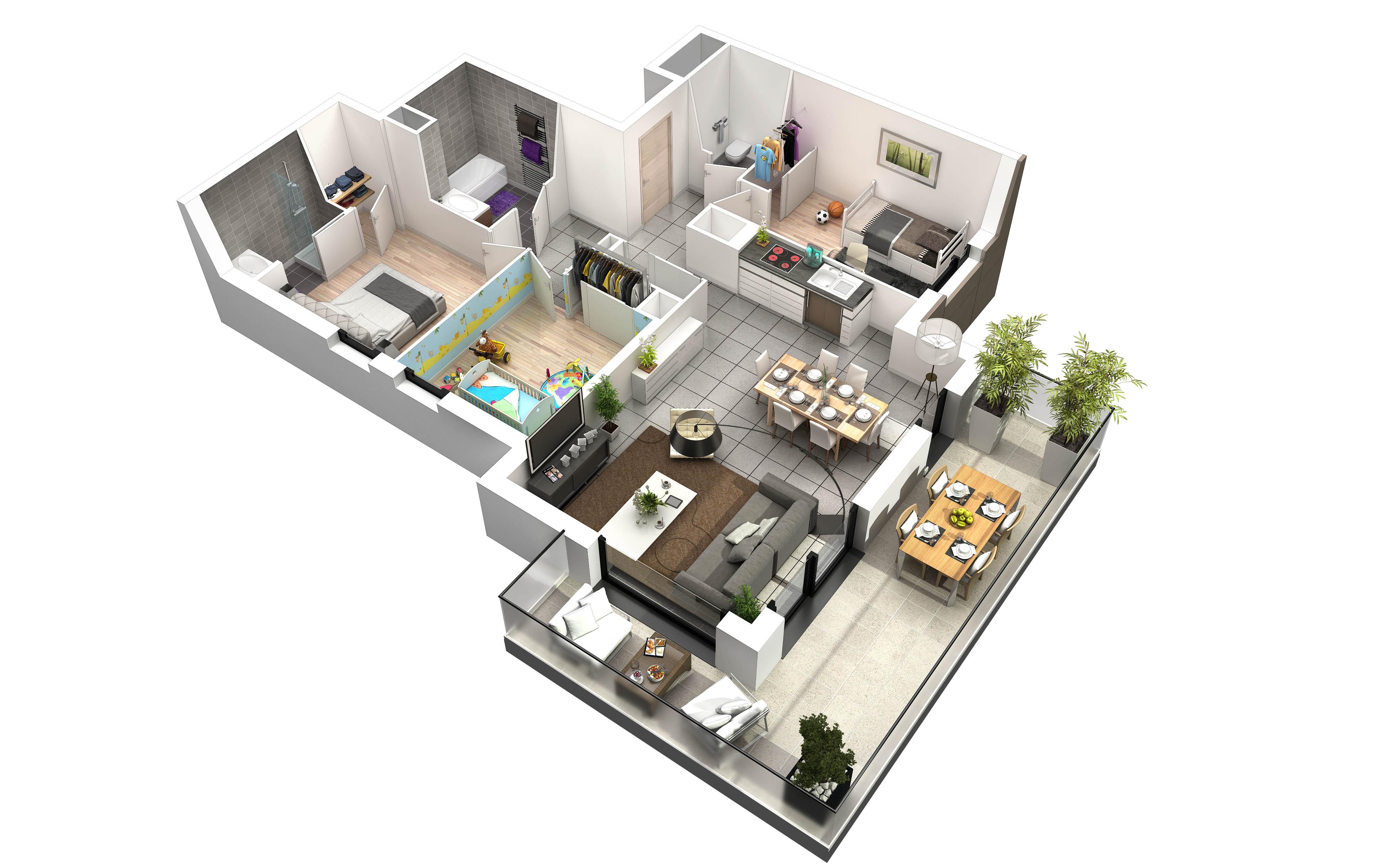 Programme Neuf Aix Les Bains Horizon 20 Appartements Du T2 T5 Partir De 201 000